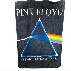 Pink Floyd plush throw blanket dark side of moon